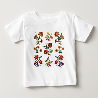 Traditional Monmouth Jacobean Embroidery Baby T-Shirt