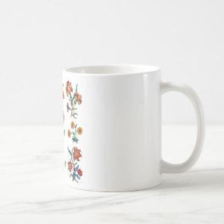 Traditional Monmouth Jacobean Embroidery Coffee Mug