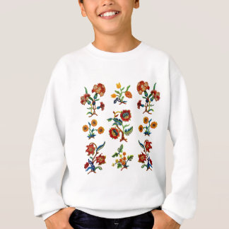 Traditional Monmouth Jacobean Embroidery Sweatshirt