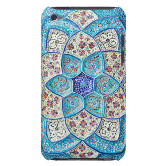 Traditional Moroccan turquoise Blue, white, salmon iPod Touch Covers