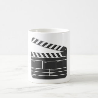 Traditional Movie Clapper-Board Coffee Mugs