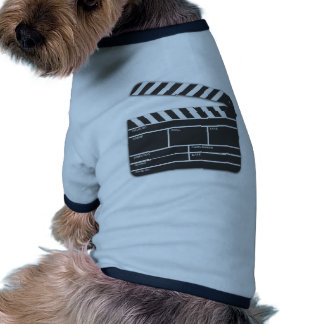 Traditional Movie Clapper-Board Pet Tee Shirt