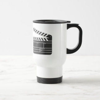 Traditional Movie Clapper-Board Travel Mug