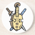 Traditional Music Coasters
