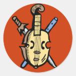 Traditional Music Sticker
