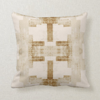 'Traditional' Neutral Pattern Cushion