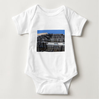 Traditional New York Fire Escape Baby Bodysuit