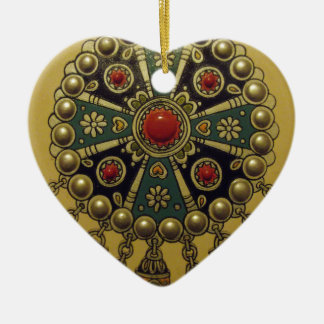 Traditional North African Jewellery Christmas Ornament