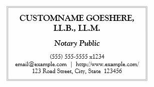 Notary public business cards zazzle uk traditional notary public business card reheart Gallery