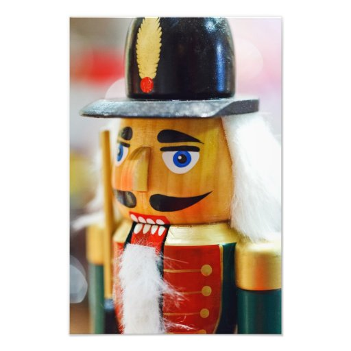 Traditional Nutcracker Photographic Print