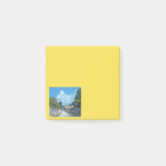 Traditional Okinawan Village Post-it Notes