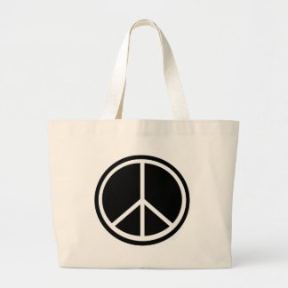Traditional peace symbol bag