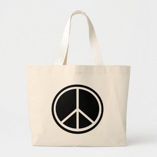 Traditional peace symbol bag