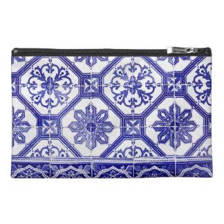 Traditional Portuguese blue tiles design Travel Accessories Bag