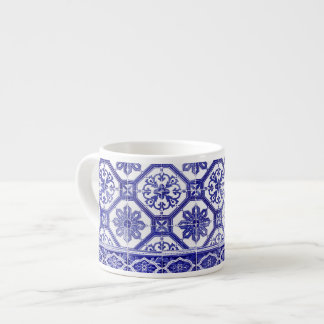 Traditional Portuguese blue tiles Espresso Cup