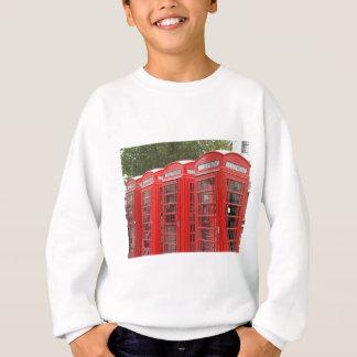 Traditional Red Telephone Box London Sweatshirt