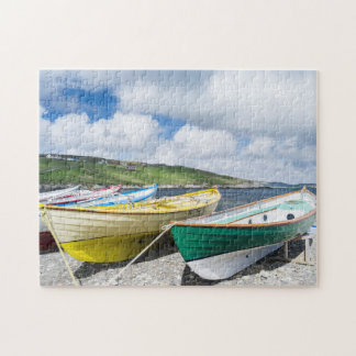 Traditional rowboats jigsaw puzzle