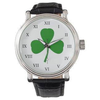 Traditional Shamrock Watch