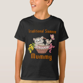 Traditional Siamese Cat Mom T-Shirt