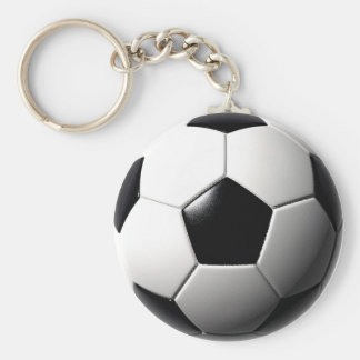 Traditional Soccer Keychain