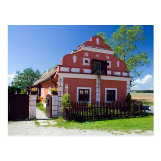 Traditional South Bohemia House Postcard