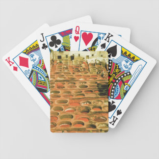 Traditional Tanneries, Fez, Morocco, North AFrica Bicycle Playing Cards