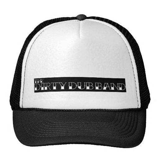 Traditional Tattoo Letters Black Trucker Hat