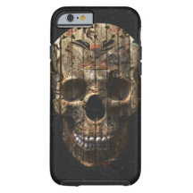Traditional Tattoo Skull Tough iPhone 6 Case