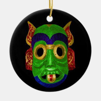 Traditional Thai Mask Christmas Ornament