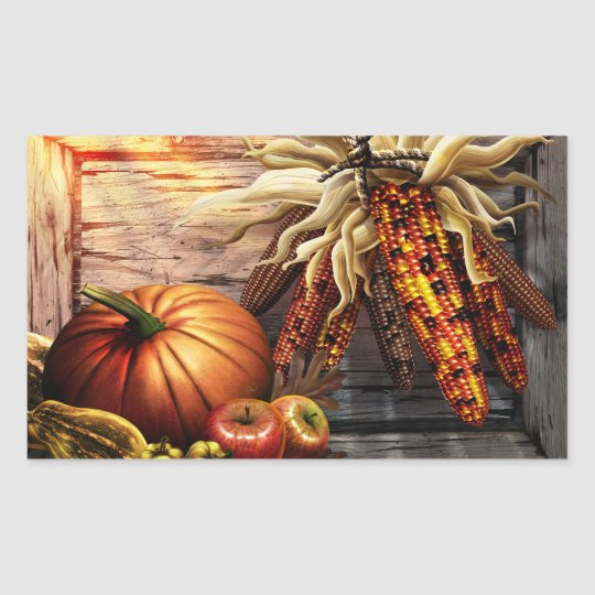 Traditional Thanksgiving Sticker