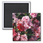 Traditional Wedding Carnations Fridge Magnets
