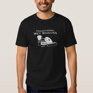 Traditional Wet Shaving Straight Razor 2 - Dark Tee Shirts