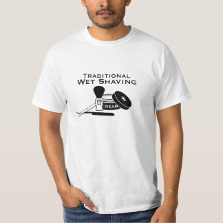 Traditional Wet Shaving Straight Razor - Light Tee