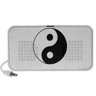 Traditional Yin Yang iPod Speakers