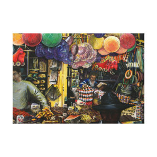 Traditions of Ancient Commerce, Jerusalem Gallery Wrapped Canvas