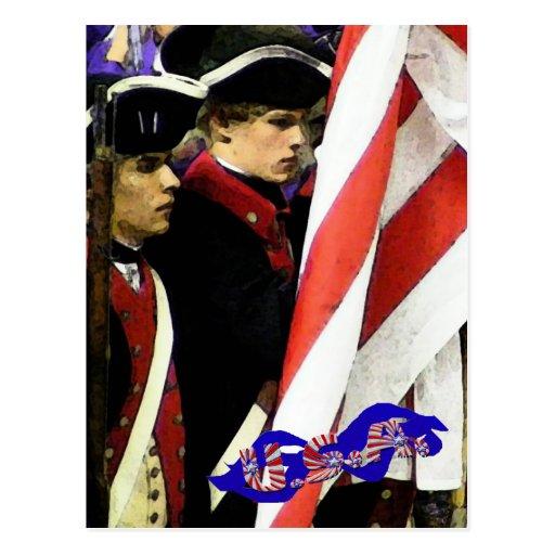 Traditions, USA Postcard