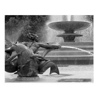 Trafalgar Square Fountains, London Postcards