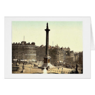 Trafalgar Square, from National Gallery, London, E Cards
