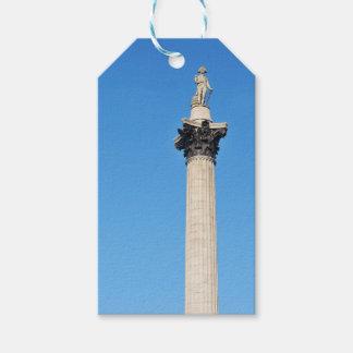 Trafalgar Square in London, UK Gift Tags