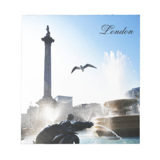Trafalgar Square in London, UK Notepad