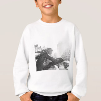 Trafalgar Square in London, UK Sweatshirt