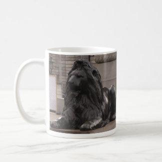 Trafalgar Square Lion Classic White Coffee Mug