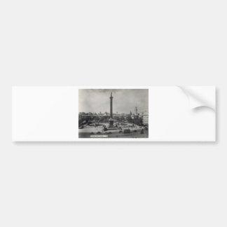 Trafalgar Square, London. Photo about 1940's Bumper Stickers
