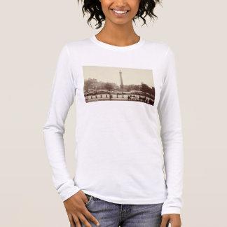 Trafalgar Square, London (sepia photo) Long Sleeve T-Shirt