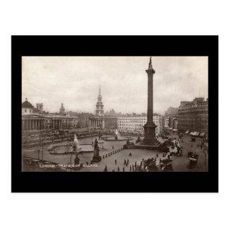 Trafalgar Square, London Vintage Post Cards