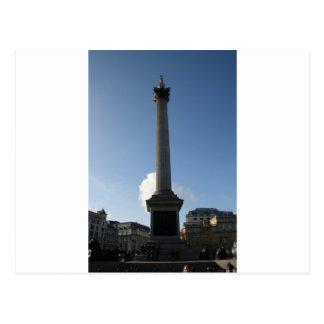 Trafalgar Square Monument Postcard