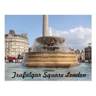 Trafalgar Square on a Postcard