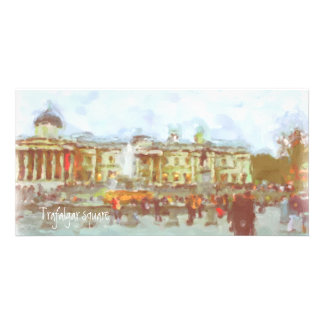 Trafalgar square Photo Card