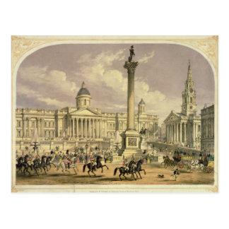 Trafalgar Square, published by Dickinson Postcards