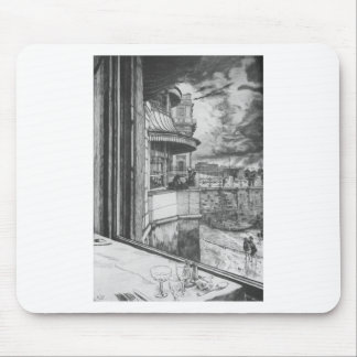 Trafalgar Tavern by James Tissot Mouse Pad